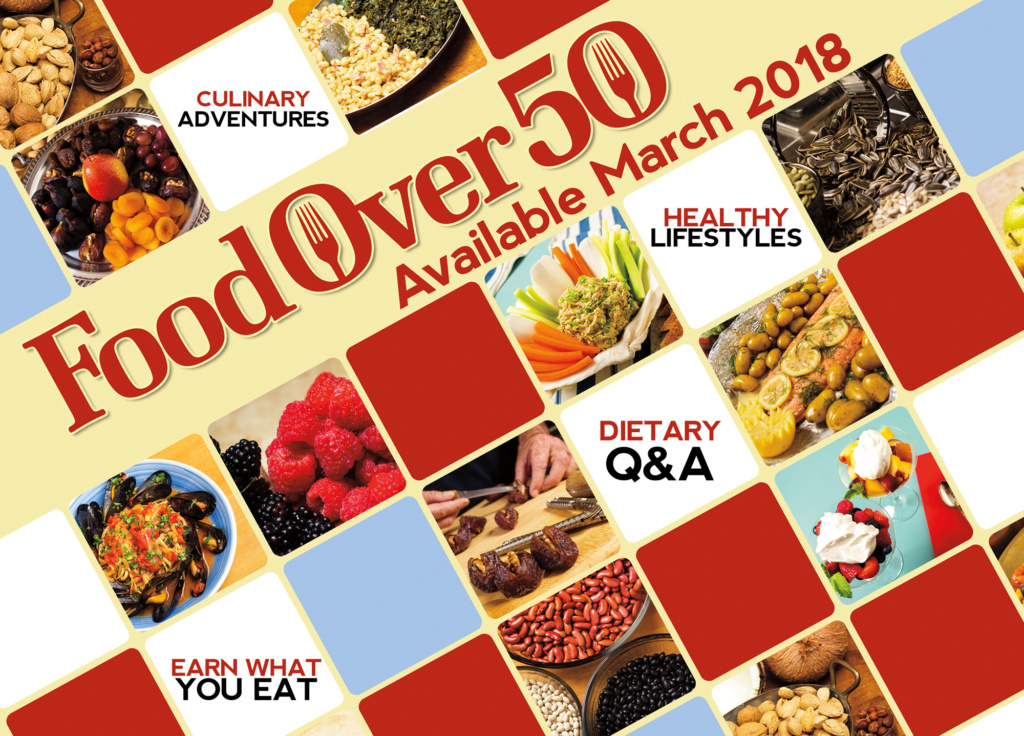 Food Over 50, APT Fall Marketplace promo card 2017